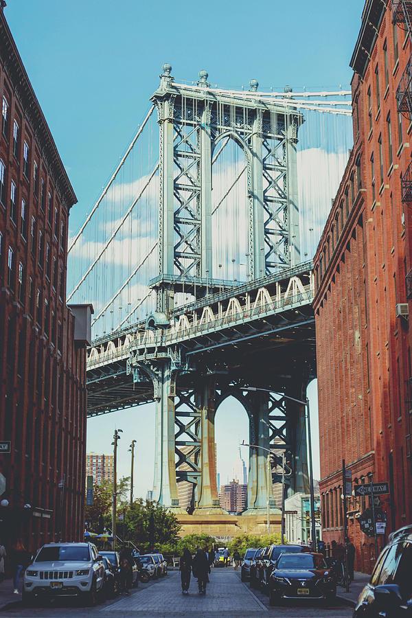 Manhattan Photograph - Manhattan Bridge by Lorrie Joaus
