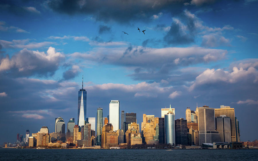 Manhattan Dramatic Skyline Photograph by Framing Places