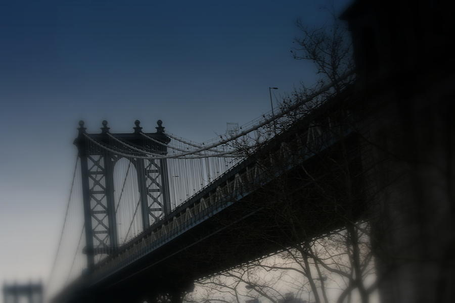Bridge Photograph - Manhattan Dreamin by Susan Crittenden
