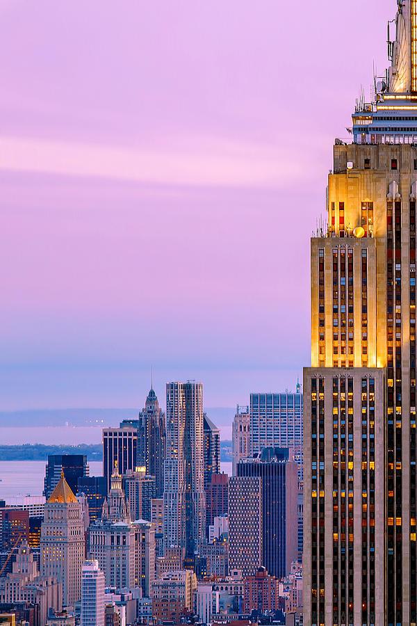 Empire State Building Photograph - Manhattan Magic by Az Jackson