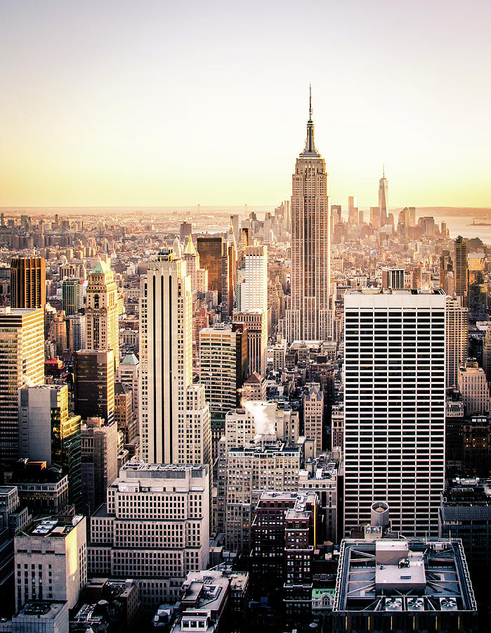Nyc Photograph - Manhattan by Michael Weber