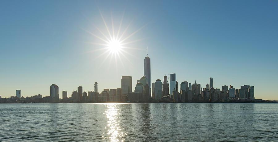 Manhattan Skyline Photograph