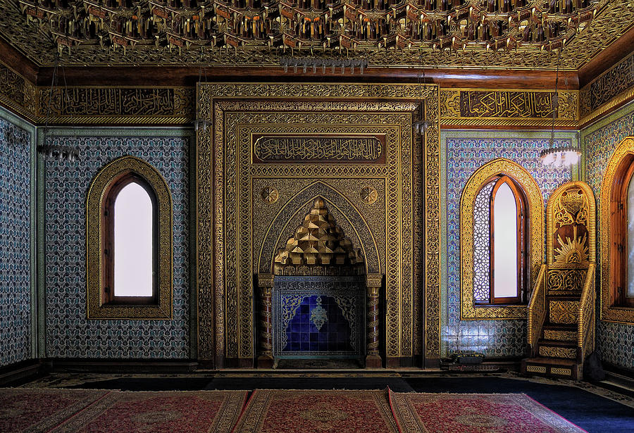 Manial Palace Mosque by Nigel Fletcher-Jones