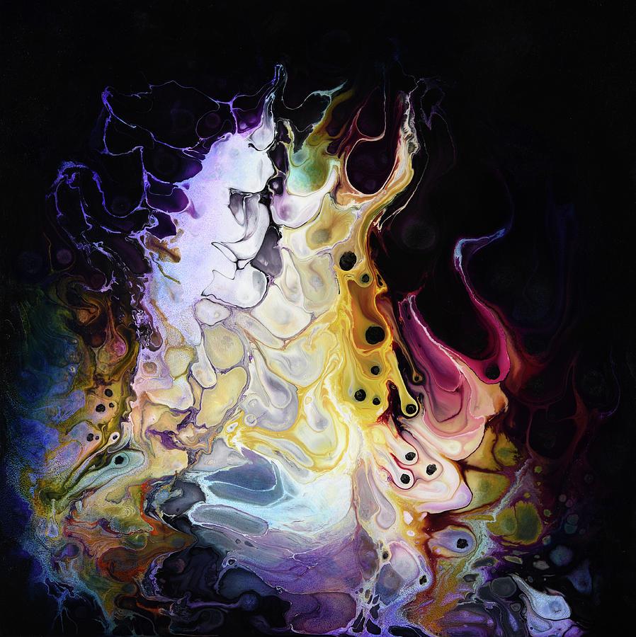 Abstract Painting - Manifestation by Dion Kurczek