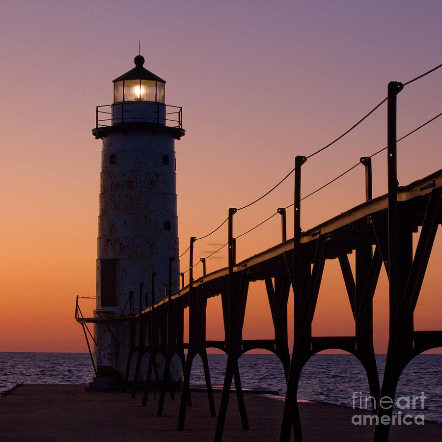Manistee Photograph - Manistee by Twenty Two North Photography