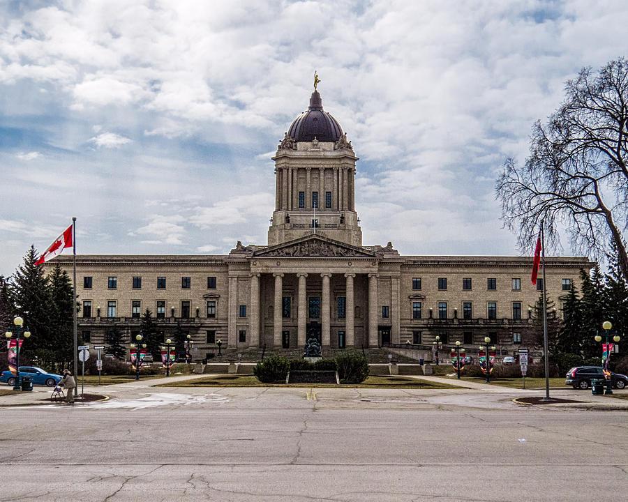 Manitoba Legislative Building Photograph
