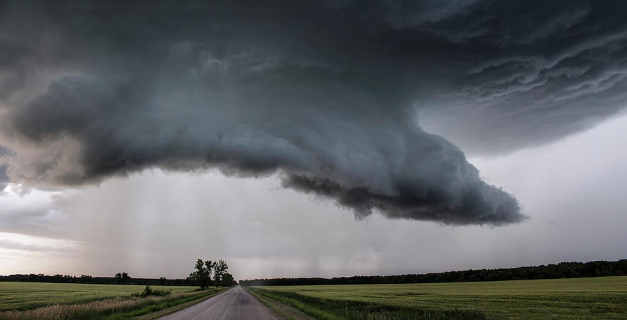 Manitoba Storm Photograph by Francis Lavigne-Theriault