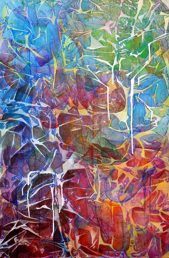Abstract Painting - Manna by Arlissa Vaughn