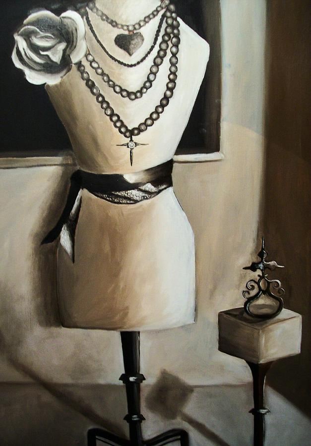 Modeling Painting - Mannequin I by Mikayla Ziegler