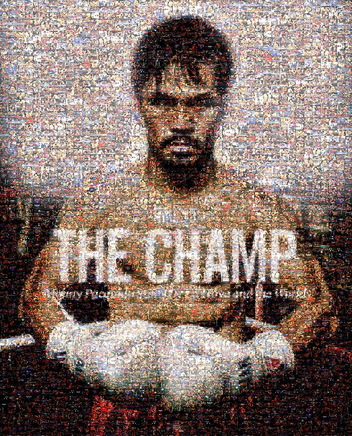 Manny Pacquiao Digital Art - Manny Pacquiao-the Champ by Ted Castor