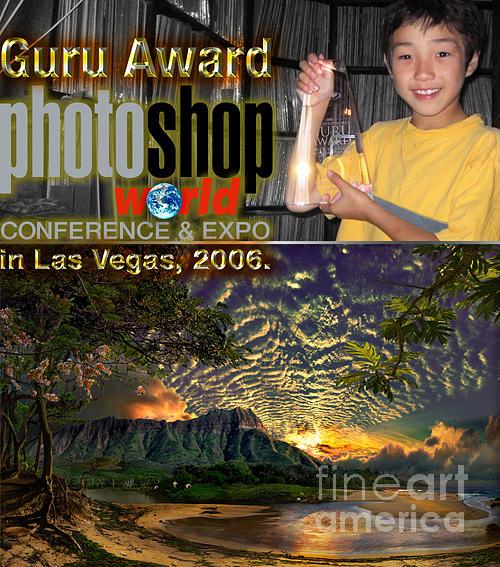 Manoa Alii At Guru Award In Las Vegas 2006  Painting by Satoshi Matsuyama