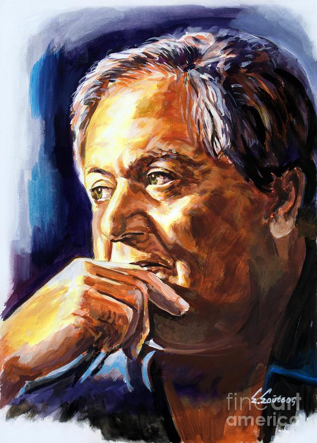 Manos Hadjidakis by Star Portraits Art