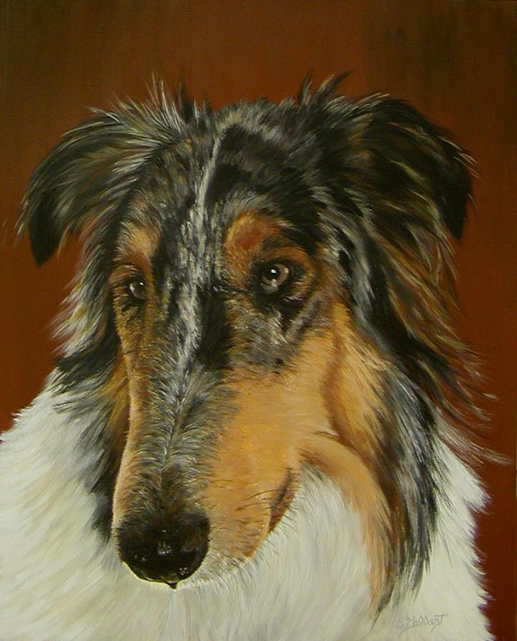 Painting Painting - Mans Best Friend by Sheryl Gallant