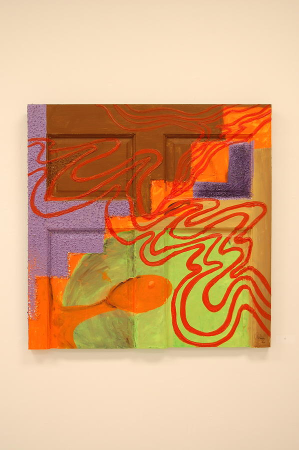 Abstract Painting Painting - Many Can Be Opened by Roosevelt Watson III