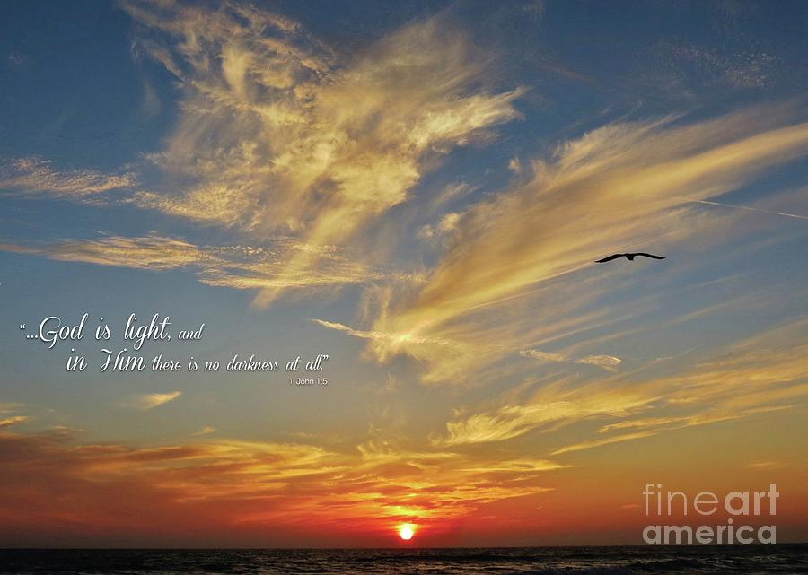 Many Colored Sunset Photograph by John Groeneveld