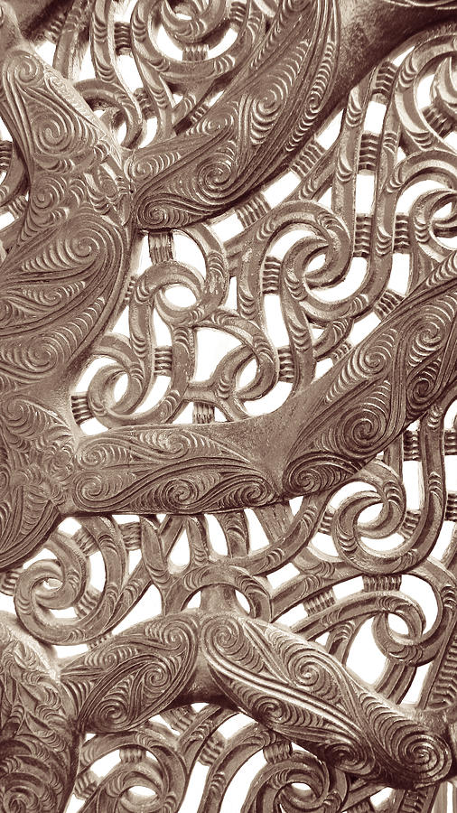 Maori Abstract by Denise Bird