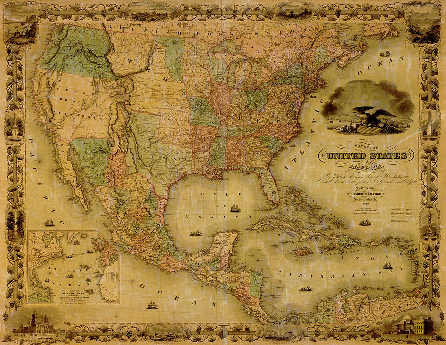 Map Of The United States 1849 United States Map on u.s. railroad map 1849, california map 1849, mexico map 1849, wisconsin map 1849, arizona map 1849, boston map 1849, texas map 1849, world map 1849, greece map 1849, nevada map 1849, europe map 1849,