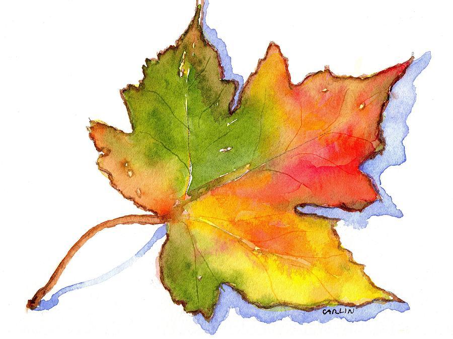 Leaf Painting Art