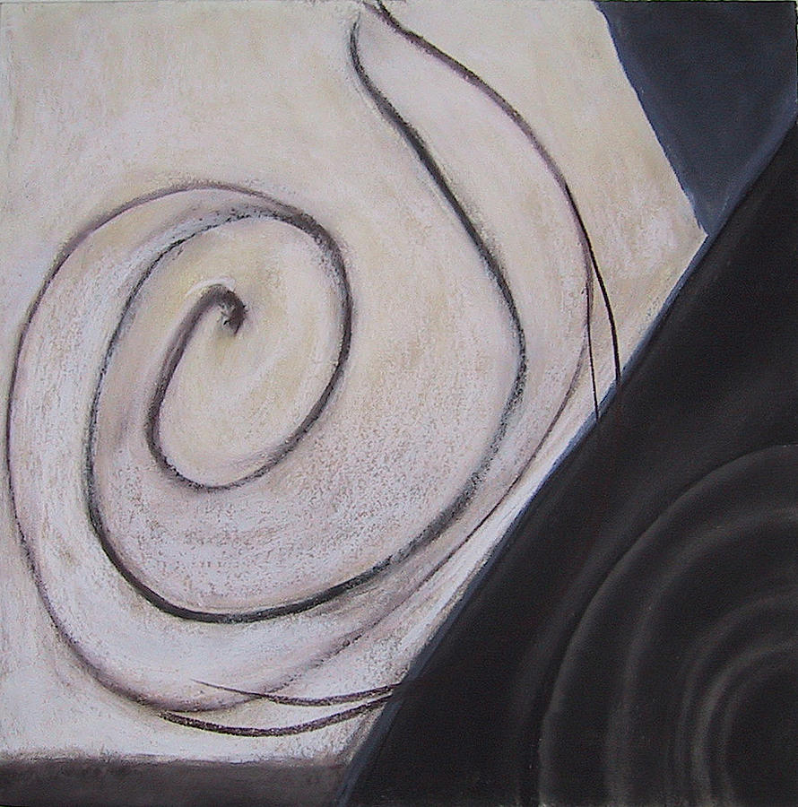 Abstract Drawing - Mapping by Carol Reed