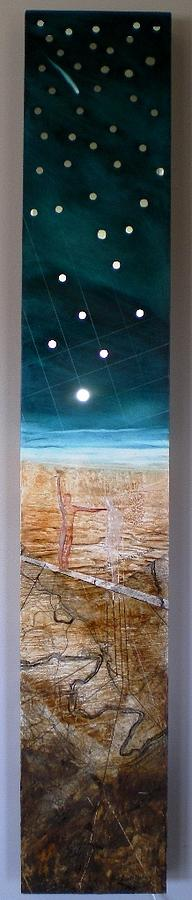 Spirit Painting - Mapping Spirit Of Place by Anthony  Harris