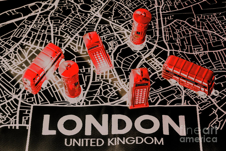 Britain Photograph - Maps From London Town by Jorgo Photography - Wall Art Gallery