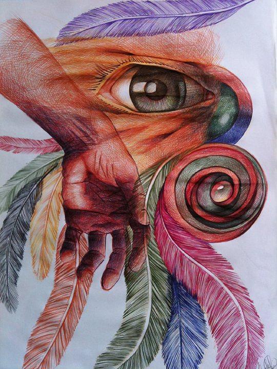 Maravilla Drawing by Jesus Miguel Rosado Perdomo