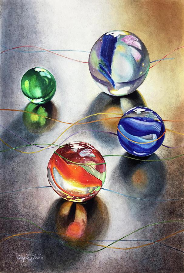 Marbles 3 by Carolyn Coffey Wallace