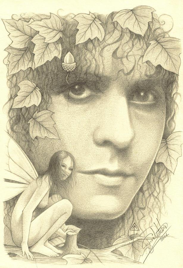 Marc Drawing - Marc by Yuri Leitch