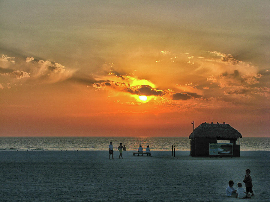 Marco Island FL Sunset Photograph by Arthur English