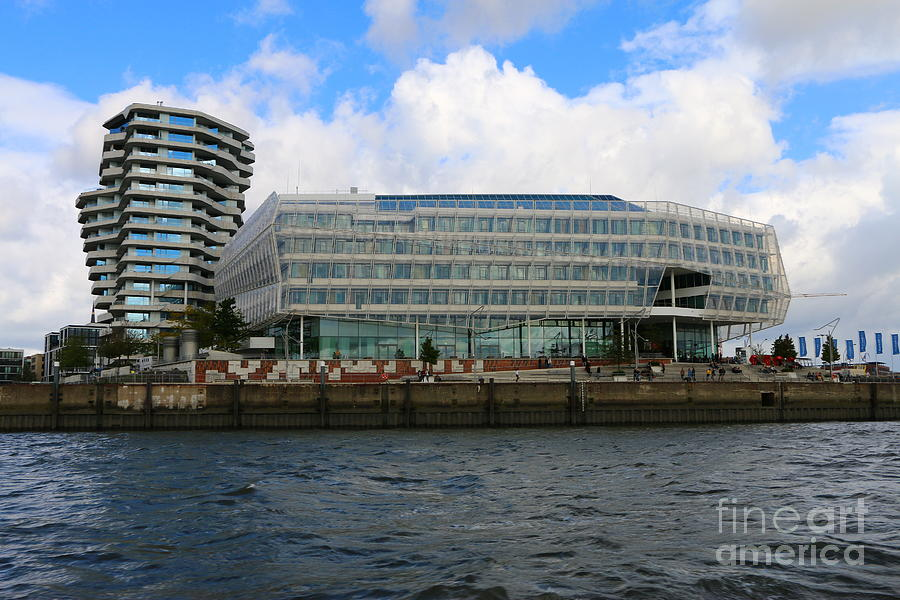 Marco - Polo - Tower And Unilever - House - Hamburg Photograph by ...