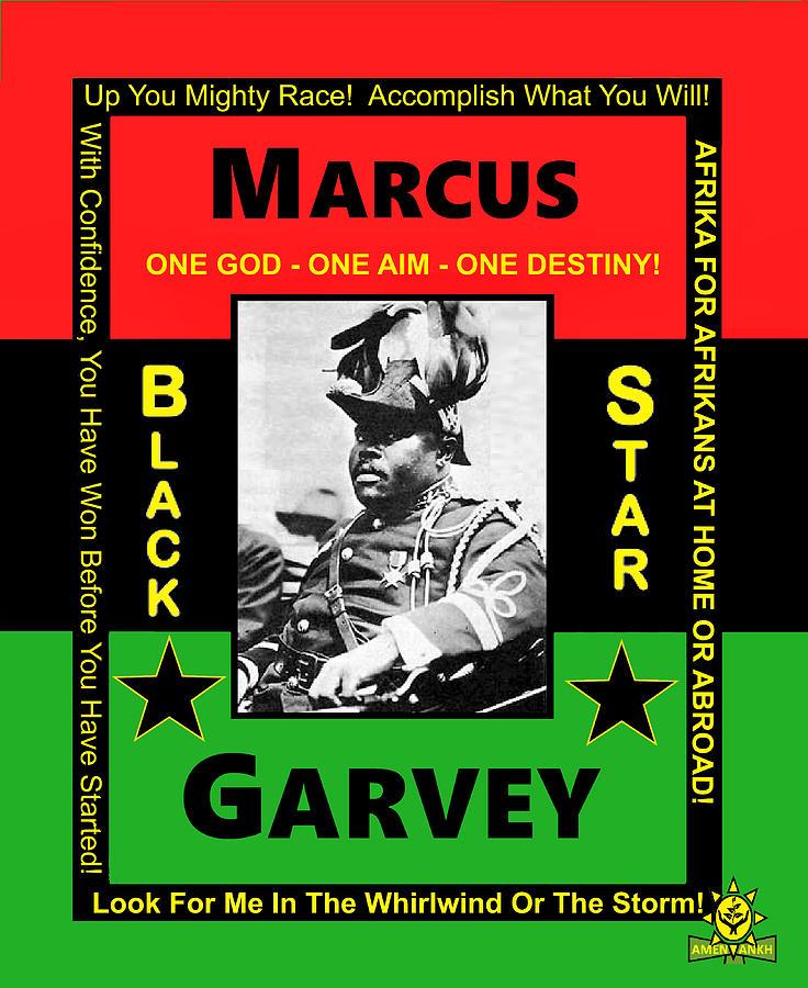 Marcus Garvey by Adenike AmenRa