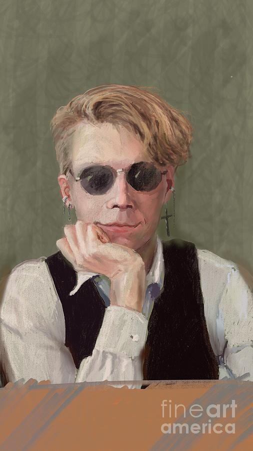 Marcus Painting by Stella Violano