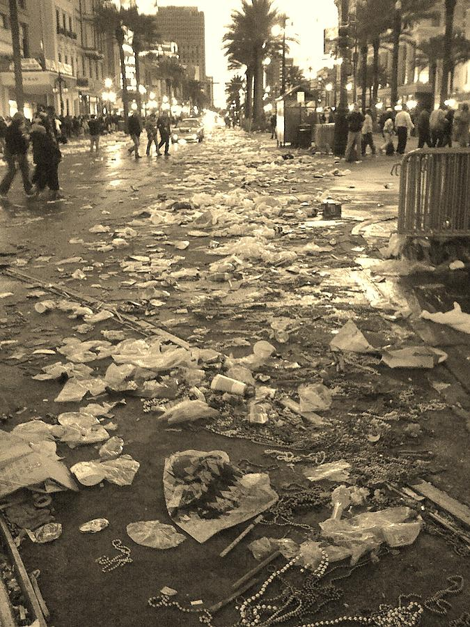 Mardi Gras Photograph - Mardi Gras 2010 Aftermath by Veronica Trotter