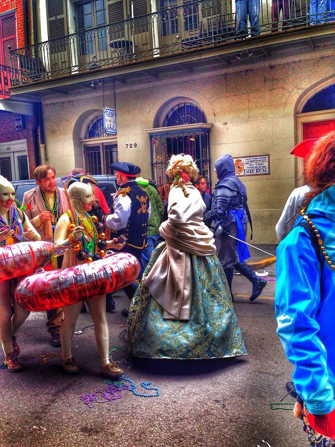 Mardi Gras Craziness Photograph by Mark  Pritchard