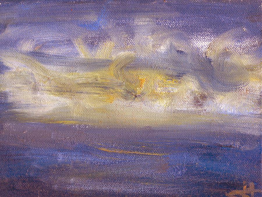 Abstract Painting - Maremoto by Jorge Delara