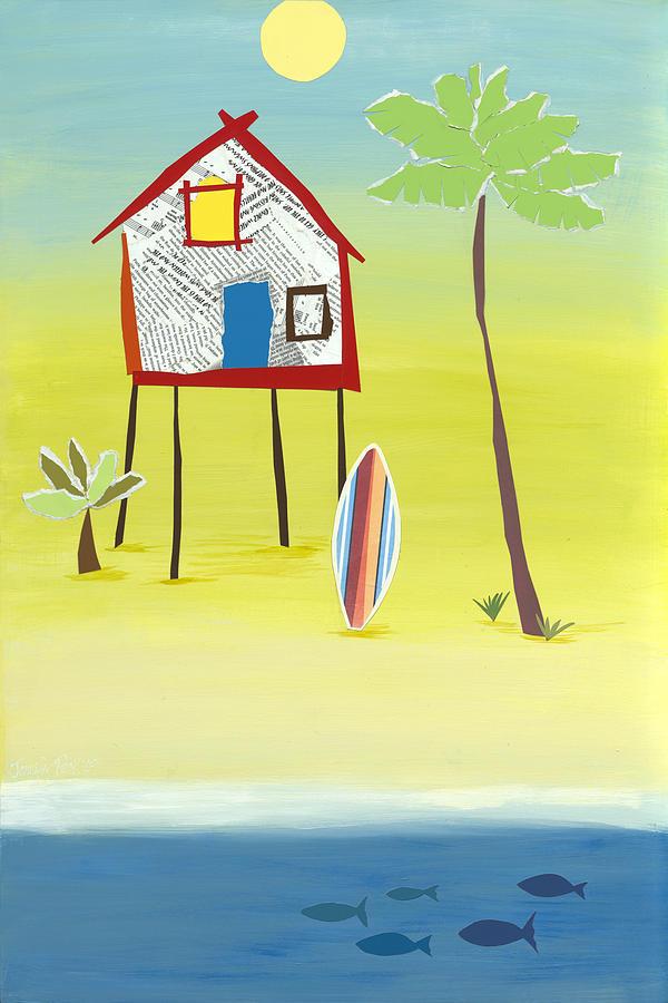 Margaritaville Painting by Jennifer Peck