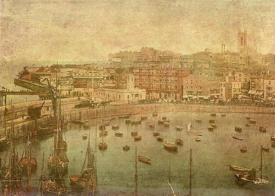 Boats Digital Art - Margate Translated by Sarah Vernon