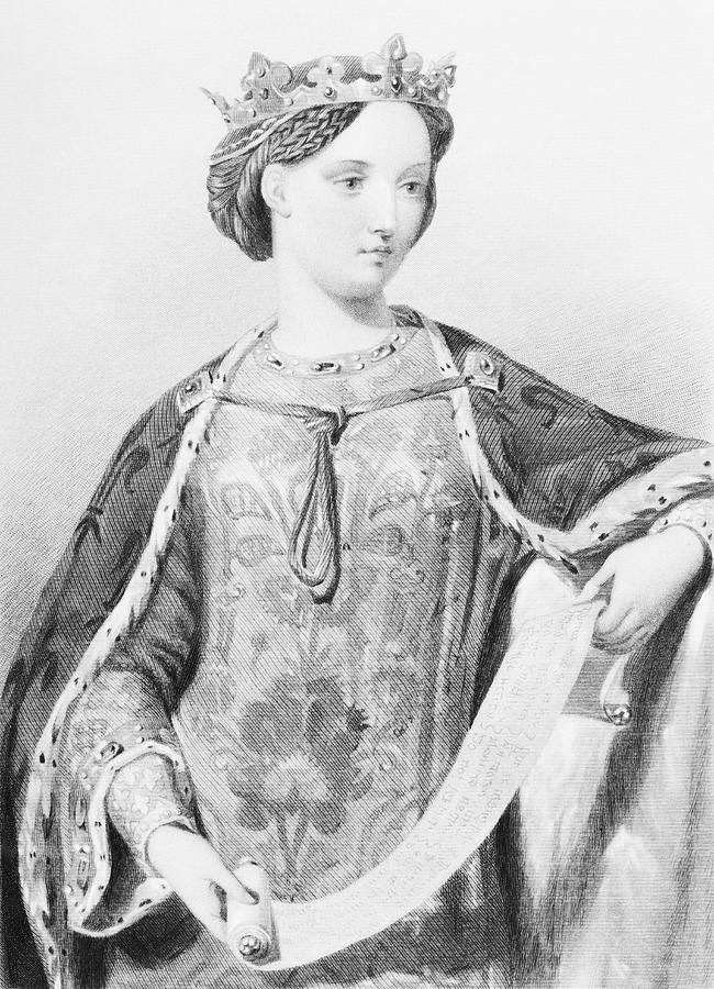 France Drawing - Marguerite Of France,1279-1317. Queen by Vintage Design Pics