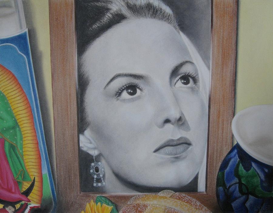 Maria Felix Painting - Maria Bonita by Lynet McDonald