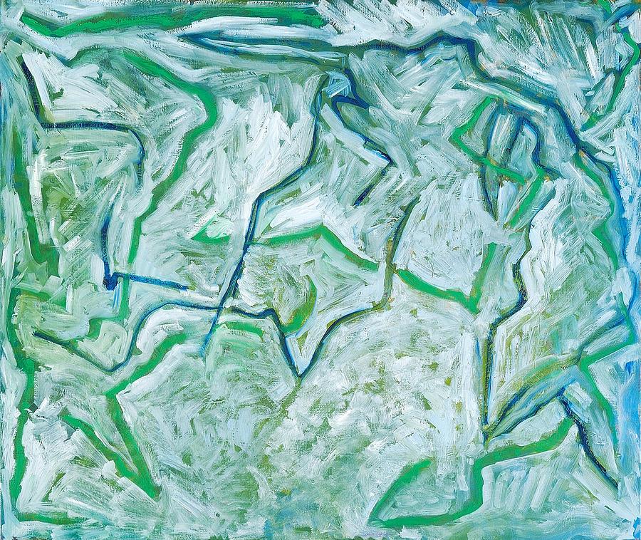 Maria Verde Painting by Joan De Bot