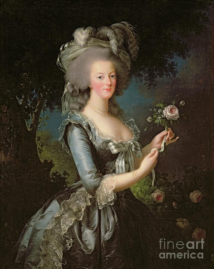 Marie Painting - Marie Antoinette by Elisabeth Louise Vigee Lebrun