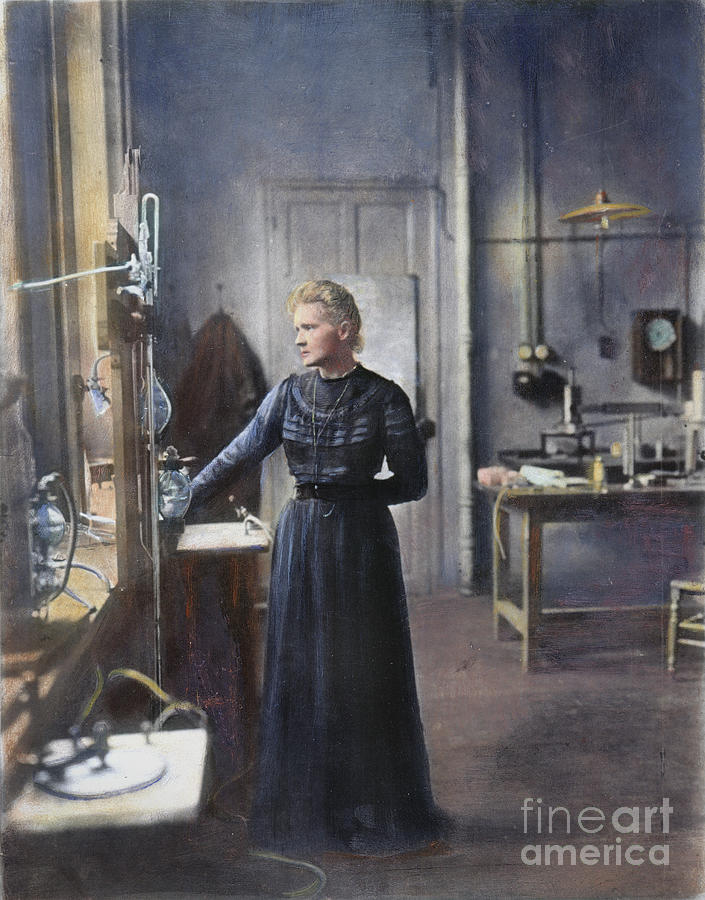 1908 Photograph - Marie Curie (1867-1934) by Granger