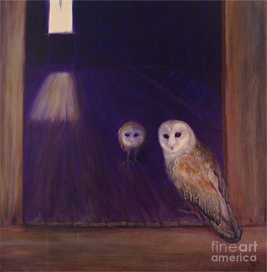 Maries Barn Painting