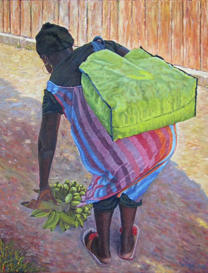 Woman At Her Chores by Ritchie Eyma