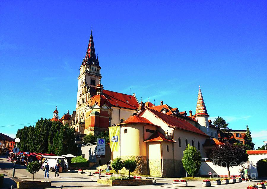 Basilica Photograph - Marija Bistrica Croatia by Jasna Dragun