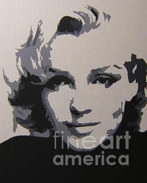 Marilyn Monroe Painting - Marilyn - Smile by Michael James Toomy