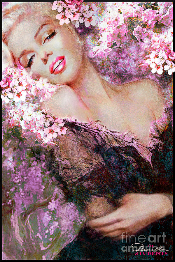 Marilyn Cherry Blossoms Pink by Theo Danella