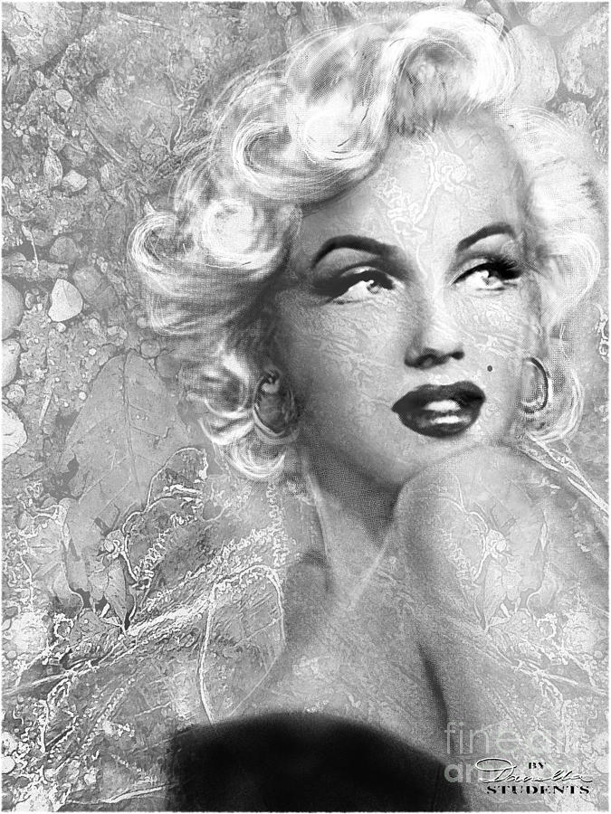 Marilyn Danella Ice bw by Theo Danella
