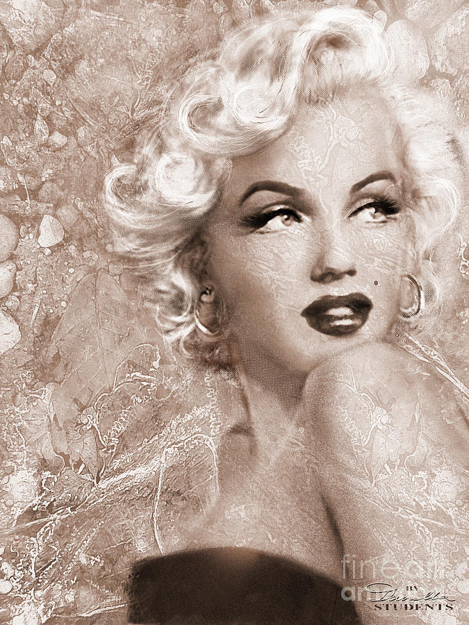 Marilyn Danella Ice Sepia by Theo Danella