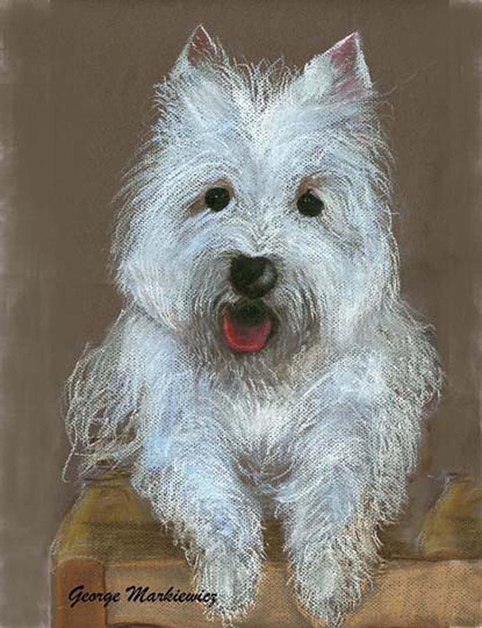 Dog Print - Marilyn by George Markiewicz